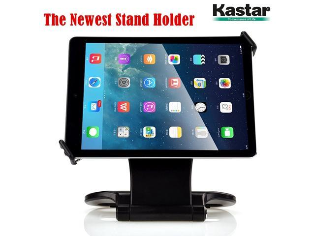 Kastar 360 Swivel Rotating Stand Holder Tabletop Stand with Collapsible Base for All iPad Series: iPad1, iPad2, iPad3, iPad4, iPad Mini, iPad Air. photo