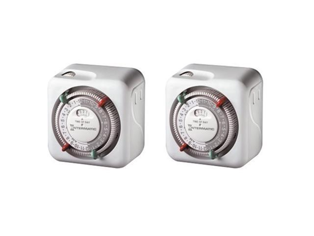Intermatic TN111C61 2-Pack Heavy Duty Lamp and Appliance Timers photo