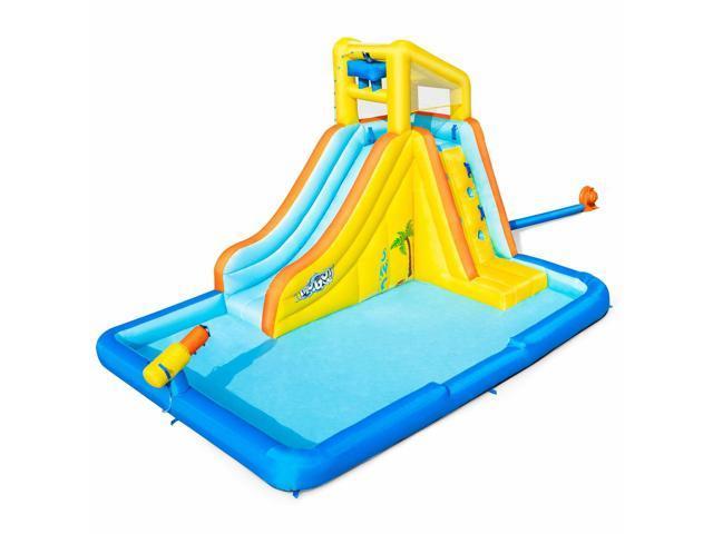 Bestway H2OGO! Beachfront Bonanza Kids Inflatable Mega Water Park with Slide (921454850174 Toys & Games Games) photo