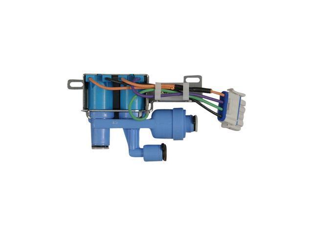 Genuine WR57X10098 GE Appliance Valve Dual Water photo