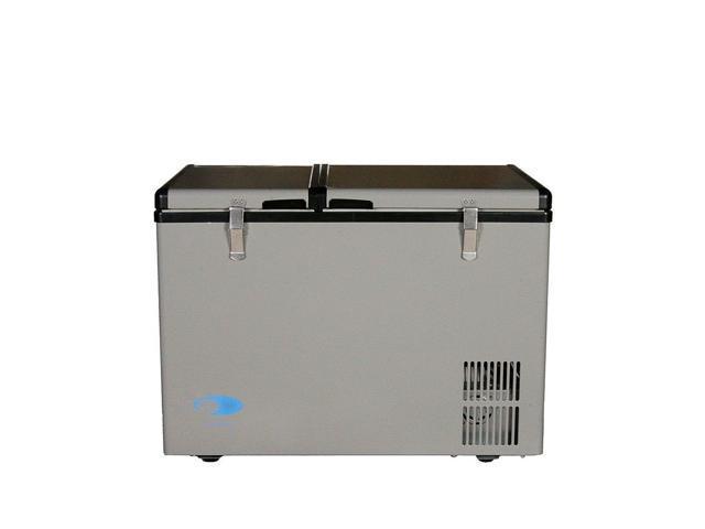 Whynter 62 Quart Dual Zone Portable Fridge, AC 110V/ DC 12V True Freezer for. photo
