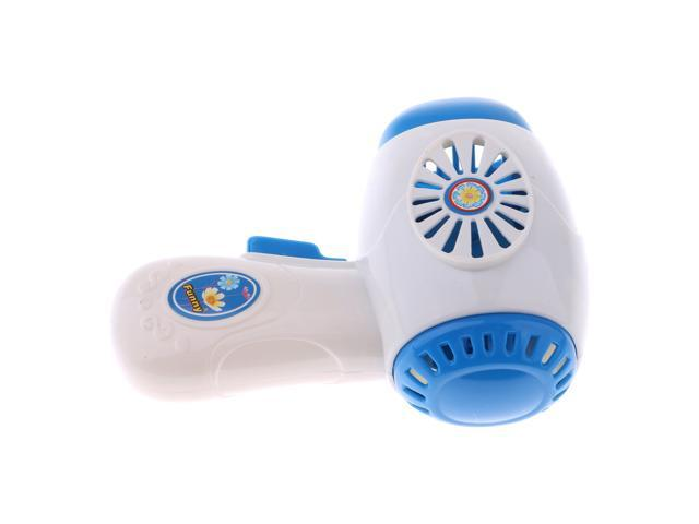 Mini Home Appliances Model Hair Dryer Toy Pretend Play Electronic Toys Gifts photo