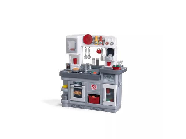 Step2 8521KR Kitchen Playset for Kids with Realistic Electronic Features, Included Accessories, and Molded-In Appliances, Playset is the One that. photo