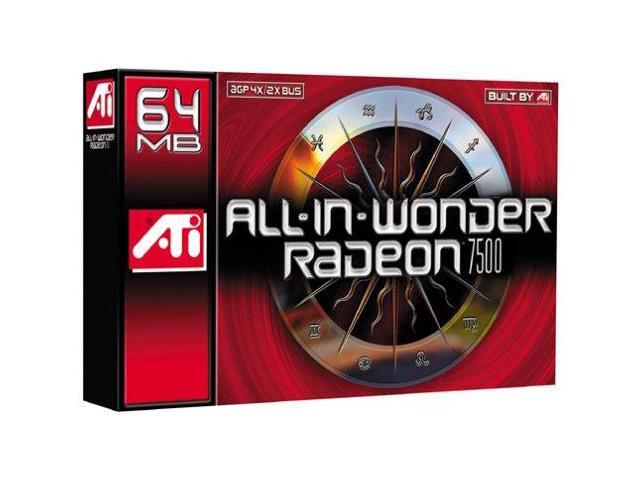 Recertified - ATI Technologies All-in-Wonder Radeon 7500 Graphics Card (915305497656 Electronics Computers Computer Components I/O Cards & Adapters) photo