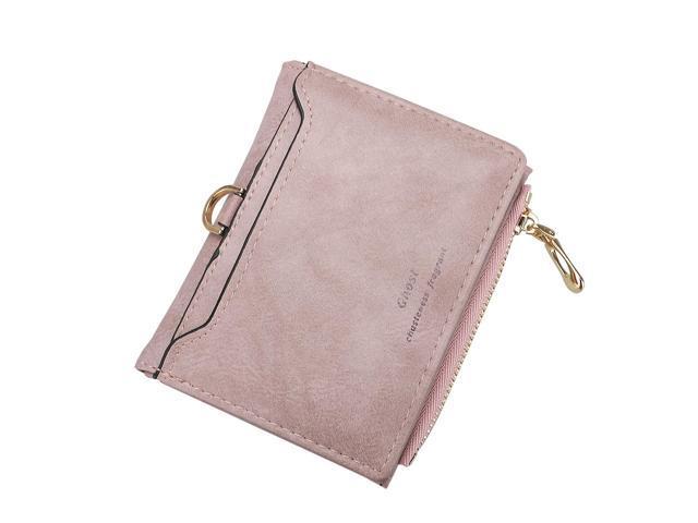 Women Small Zip PU Leather Wallet Card Holder Coin Purse Mini Bag Casual Handbag (Hardware Tools Flashlights) photo