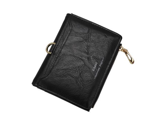 Women Small Zip PU Leather Wallet Card Holder Coin Purse Mini Bag Casual Handbag (Electronics Computers Computer Accessories Pda Accessories) photo