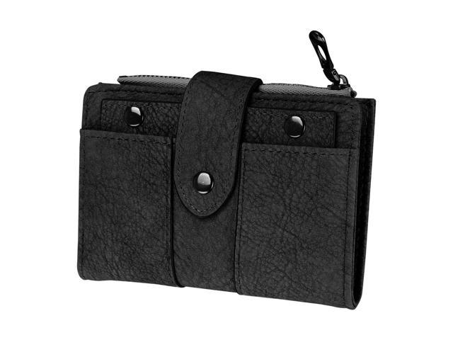 Women's Short Small Wallet Lady Leather Folding Coin Card Holder Money Purse New (Electronics Computers Handheld Devices Pdas) photo