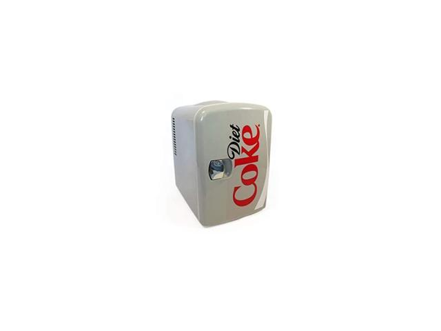 Diet Coke DC04 4 Liter/4.2 Quarts 6 Can Portable Mini Cooler/Fridge, Beverages, Baby Food, Skincare and Medications-Use at Home, Office, Dorm, Car. photo