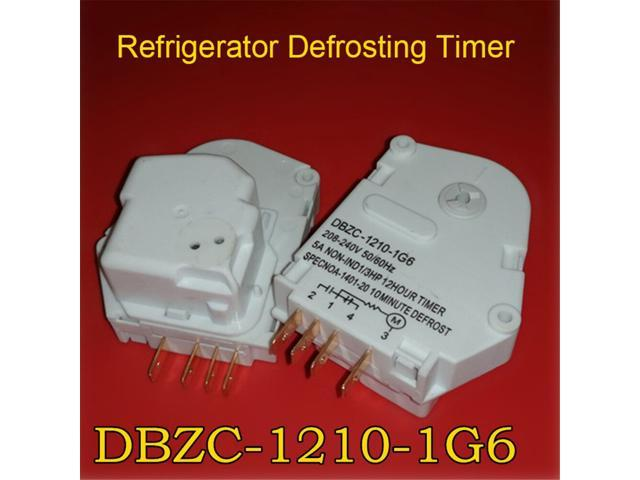 Refrigerator defrost timer For Hisense Haier Refrigerator Defrosting Timer DBZC-1210-1G6 replacement Parts photo