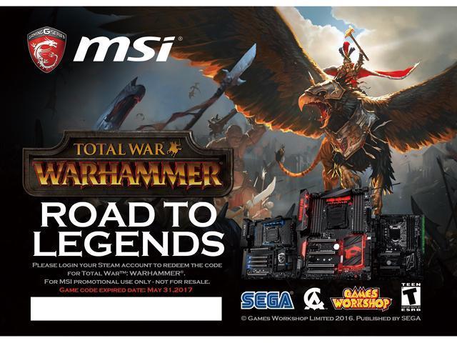 msi gift total war warhammer newegg com