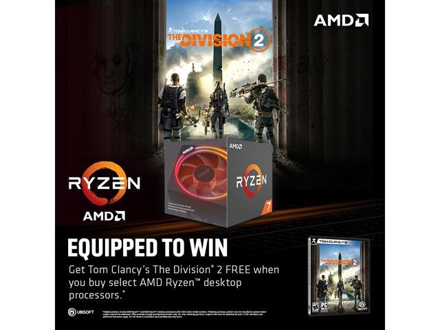 AMD Q119 Ryzen Game Bundle with Division 2 - Newegg com