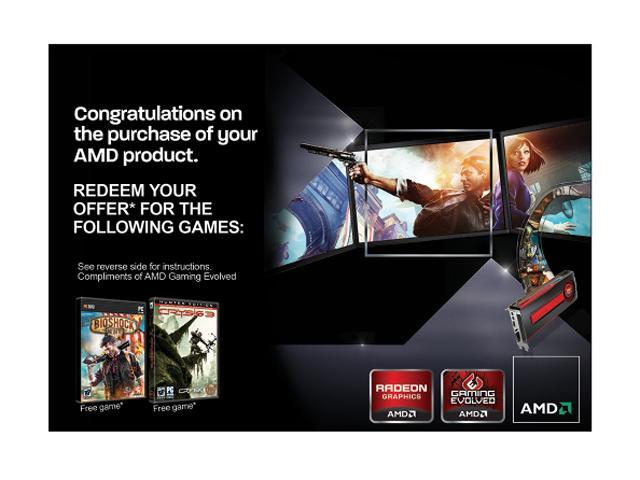 AMD Gift FARCRY3 Blood Dragon CRYSIS3 BIOSHOCK - Newegg com