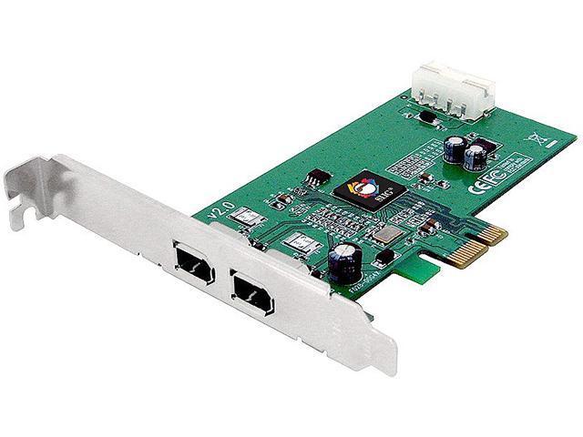 SIIG FireWire 2-Port PCIe Model NN-E20012-S2 - Newegg com