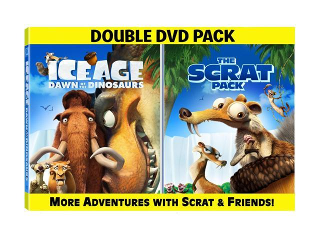 Ice Age Dawn Of The Dinosaurs The Scrat Pack Dvd Ac