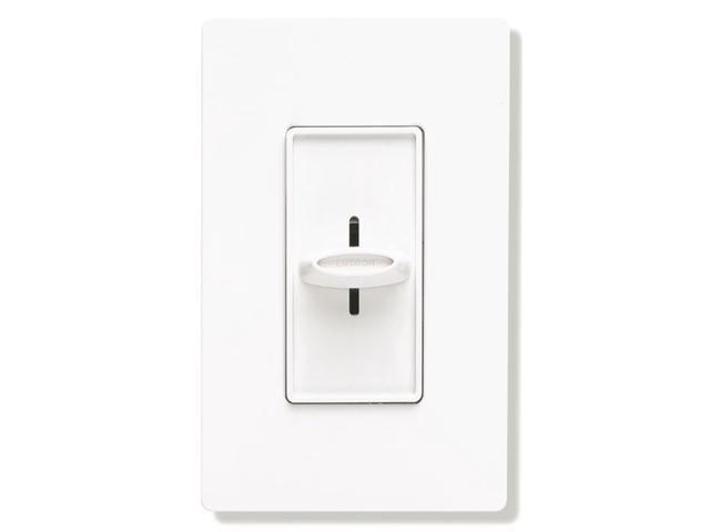 Lutron SFSQ-FH-WH Electronics Slide-To-Off Fan Speed Control White