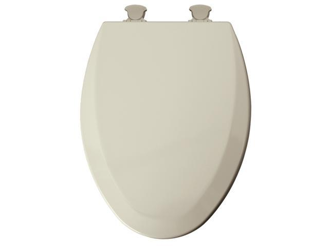 Enjoyable Mayfair 146Ecdg 346 Biscuit Elongated Easy Clean Toilet Seat Squirreltailoven Fun Painted Chair Ideas Images Squirreltailovenorg