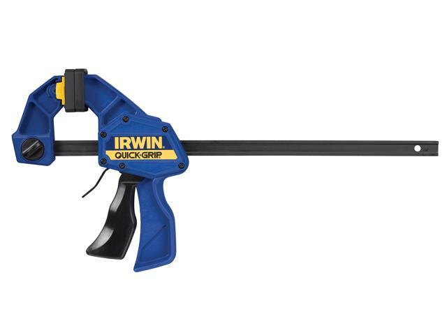 IRWIN QUICK-GRIP One-Handed Mini Bar Clamp and Clutch Lock Bar Clamp