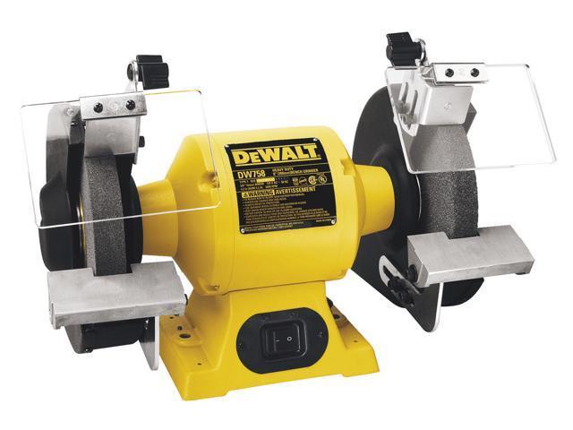 """Dewalt DW756 6"""" Heavy Duty Bench Grinder"""
