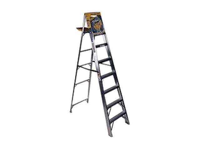 Werner 368 8 Aluminum Step Ladder