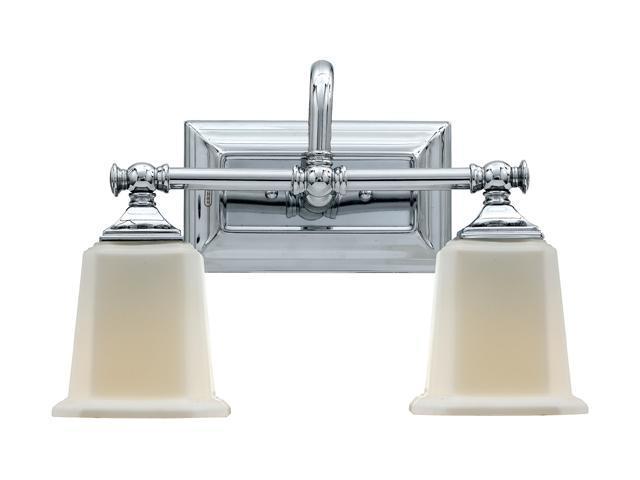 Quoizel Polished Chrome Nicholas Bath Fixture With 2