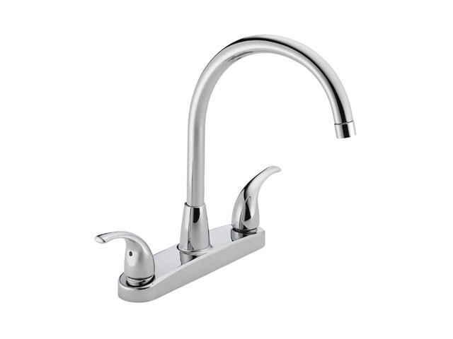 PEERLESS P299568LF Two Handle Kitchen Faucet Chrome