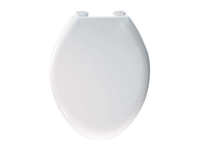 Wondrous Bemis 380Slowt 000 Whisper Close Elongated Closed Front Toilet Seat White Newegg Com Onthecornerstone Fun Painted Chair Ideas Images Onthecornerstoneorg