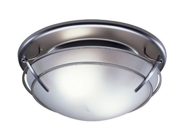 Broan 757SN 80-CFM Decorative Fan/Light, Satin Nickel