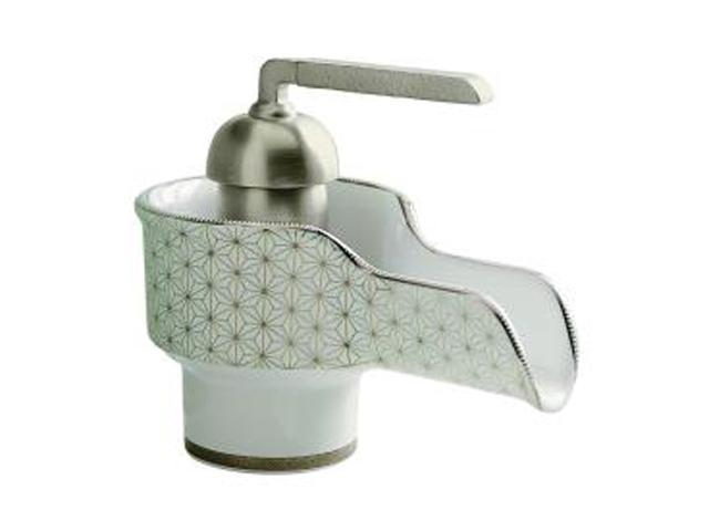 KOHLER K-11000-VT-0 Silkweave Design on Bol Single-control Lavatory Faucet White Bathroom Faucet - Newegg.com