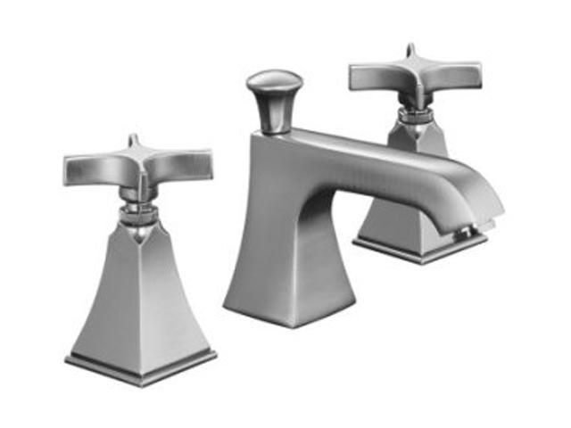 Kohler Elmbrook 8 In Widespread 2 Handle Bathroom Faucet: KOHLER K-454-3S-G Memoirs Widespread Lavatory Faucet With