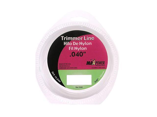 "Maxpower 333040 .040/"" x 40/' Trimmer Line"