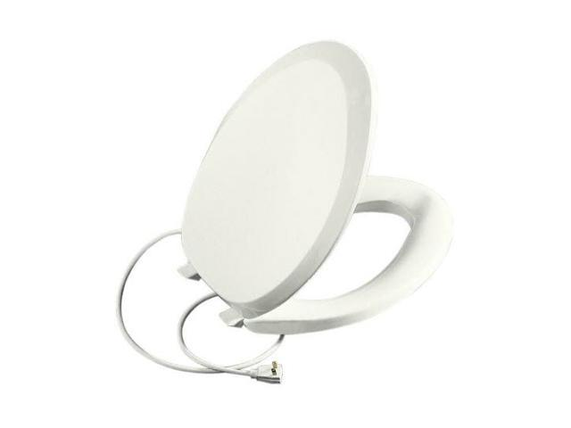 Terrific Kohler K 4649 0 French Curve Elongated Closed Front Heated Toilet Seat Newegg Com Gmtry Best Dining Table And Chair Ideas Images Gmtryco