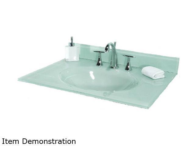 Tempered Glass Vanity Top, Pegasus Bathroom Vanity
