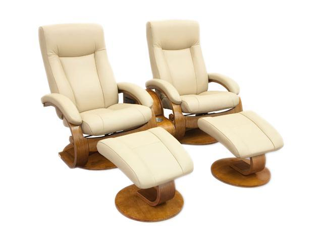 Swell Oslo Collection Hamar Cobblestone Tan Top Grain Leather Swivel Recliner With Ottoman Recliners Newegg Com Pdpeps Interior Chair Design Pdpepsorg