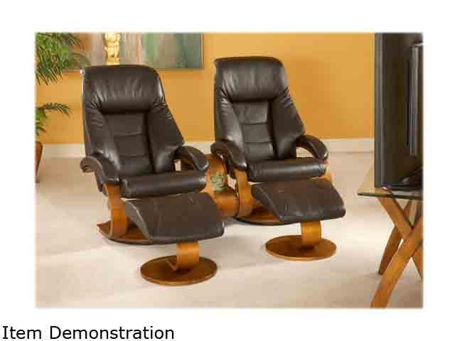 Magnificent Oslo Collection Mandal Espresso Brown Top Grain Leather Pdpeps Interior Chair Design Pdpepsorg