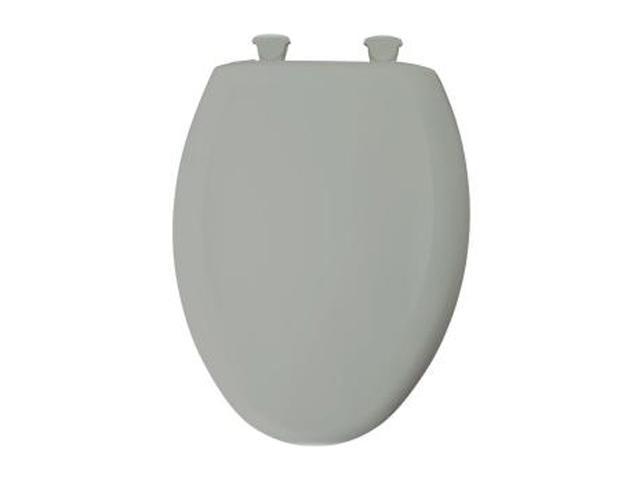Cool Bemis 1200Slowt 062 Whisper Close Elongated Closed Front Toilet Seat Ice Grey Newegg Com Machost Co Dining Chair Design Ideas Machostcouk