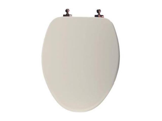 Groovy Bemis 585Or 346 Elongated Molded Wood Toilet Seat W Oil Rubbed Bronze Hinges Biscuit Newegg Com Gmtry Best Dining Table And Chair Ideas Images Gmtryco