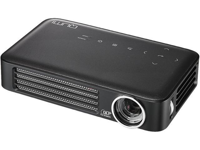 Vivitek Q6-GY Vivitek Qumi Q6 3D Ready DLP Projector - 720p - HDTV - 16:10  - Ceiling, Rear, Front - LED - 30000 Hour - 1280 x 800 - WXGA - 30,000:1 -