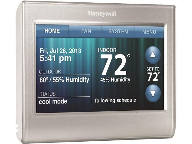 Honeywell RTH9580WF Wi-Fi Smart Thermostat w/ Customizable Color  Touchscreen - Newegg com