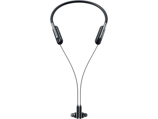 Samsung U Flex Bluetooth Wireless In Ear Flexible Headphones With Microphone Us Version With Warranty Black Newegg Com