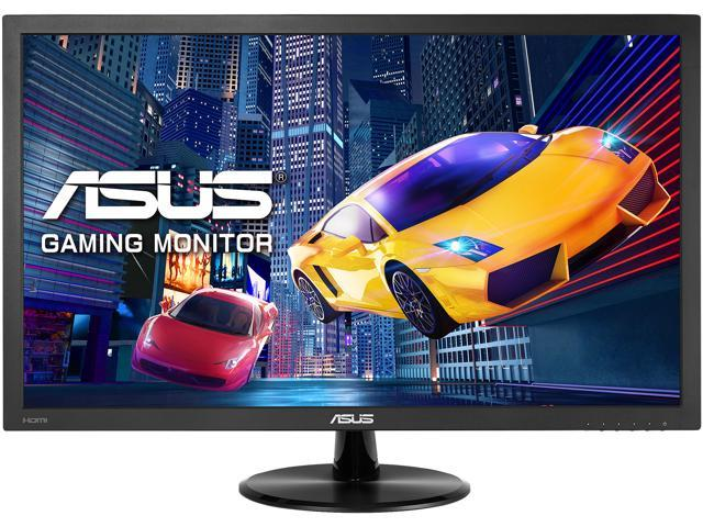 """ASUS VP228HE 22"""" (21.5"""" Diagonal) Full HD 1920 x 1080 1ms HDMI VGA Asus Eye Care with Ultra Low-Blue Light and Flicker-Free Technology WideScreen LED Backlit Monitor"""