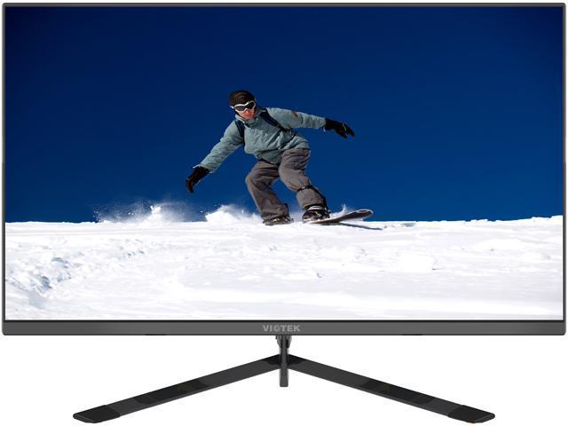 VIOTEK GFT27DB 27-Inch WQHD Gaming Monitor with Speakers, 1440p 144Hz 1ms,  FreeSync & Works w/G-SYNC, TN Panel 115% sRGB, DP HDMIx3 VESA - Newegg com