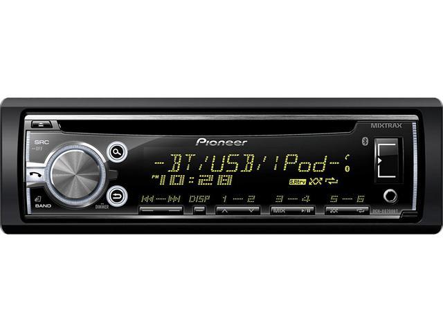 pioneer deh x6700bt cd receiver with bluetooth newegg com pioneer deh x3500ui wiring pioneer deh x6700bt cd receiver with bluetooth