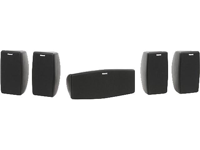 Klipsch - Quintet V 5.0-Channel Home Theater System - Black