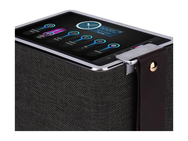 8-in-1 Multifunctional Bluetooth Speaker Black Sonicgrace Wi-Fi Internet Radio 8 Inches High Definition Touchscreen 40W Wireless Hi-Fi Stereo Speaker