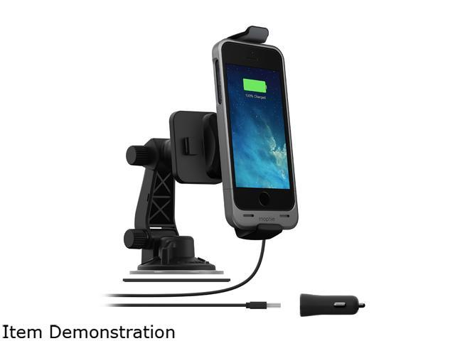 info for 29b8f b411a Mophie 2306 Juice Pack Car Charger Dock with 180 Rotation for iPhone 5 / 5S  / 5C / SE - Newegg.com