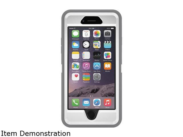 f0c0e999be9 OTTERBOX 77-50207 Cell Phone Case, iPhone 6, Gray, Slipcover ...