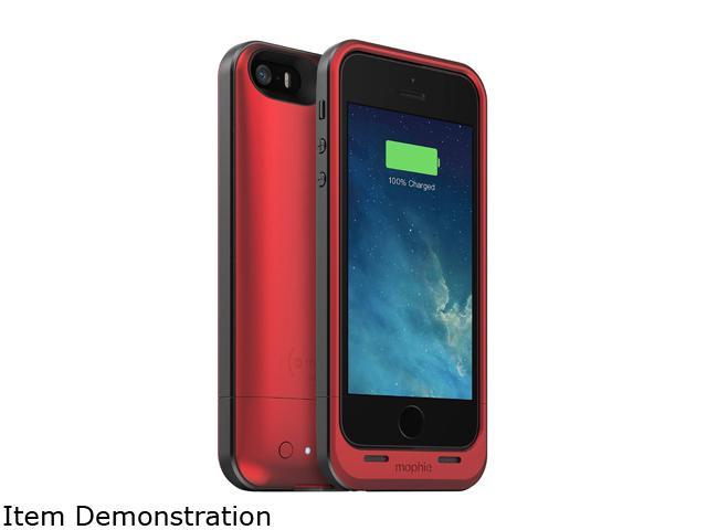 quality design 8d97d d9a68 Mophie Juice Pack Air Battery Case for iPhone 5 Red - Newegg.com