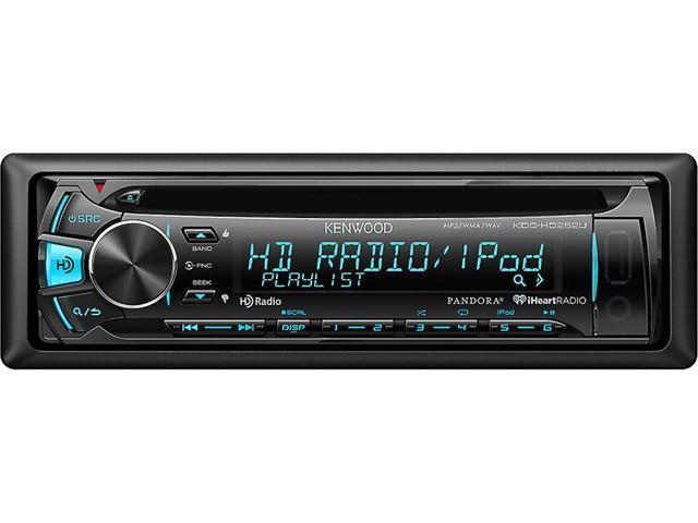 Kenwood KDC-HD262U CD Receiver with Built-in HD Radio - Newegg com