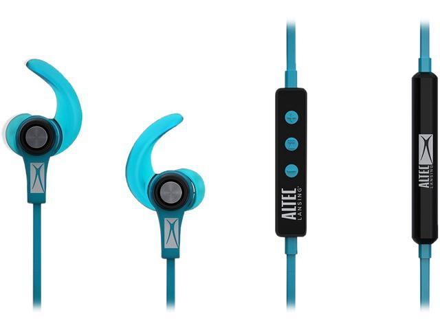 72ba4a76588 Altec Lansing MZX856-BLU Waterproof In Ear Bluetooth Sport Earbuds