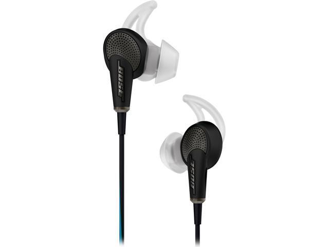 Bose Quiet Comfort 20 Acoustic Noise Cancelling Headphones-Black-iOS Devices